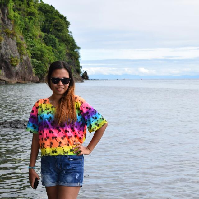 Rainbow Summer Blouse
