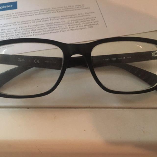 Ray-Ban Prescription Frames With Lenses