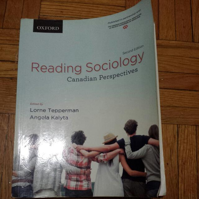 Reading Sociology 2nd Ed By Lorne Tepperman And Angela Kalyta