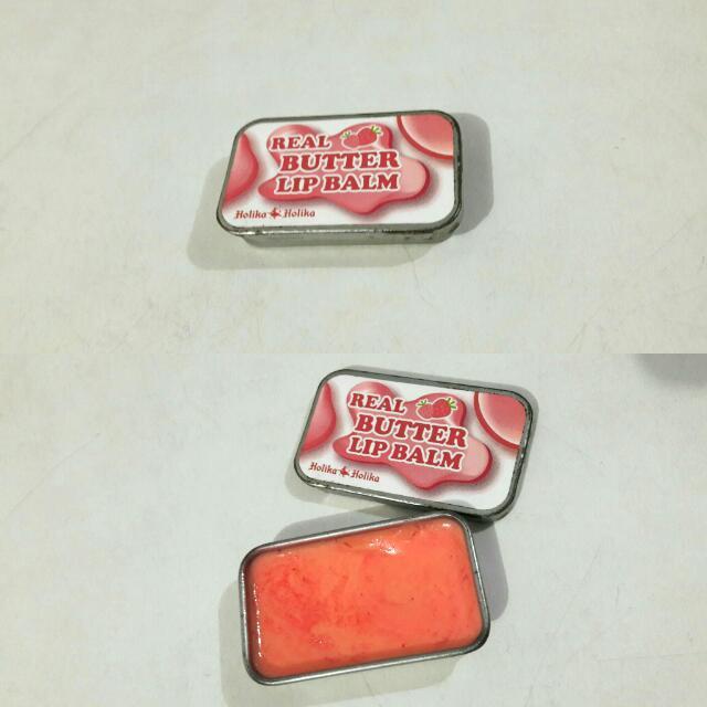 Real Butter Lip Balm