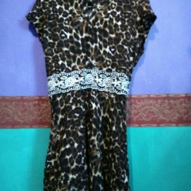 Re-Price Dress Leopard