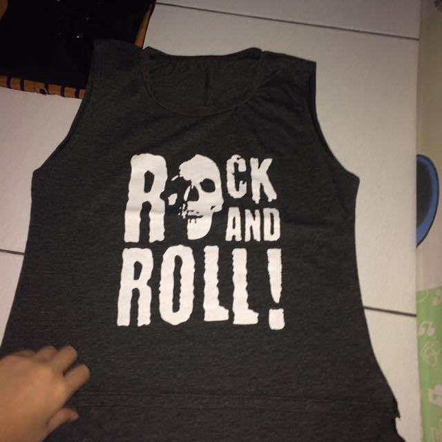 rock n roll tanktop