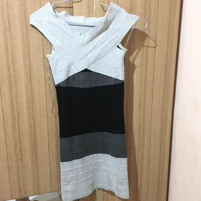 Sabrina Dress Knitt Import Poshmode