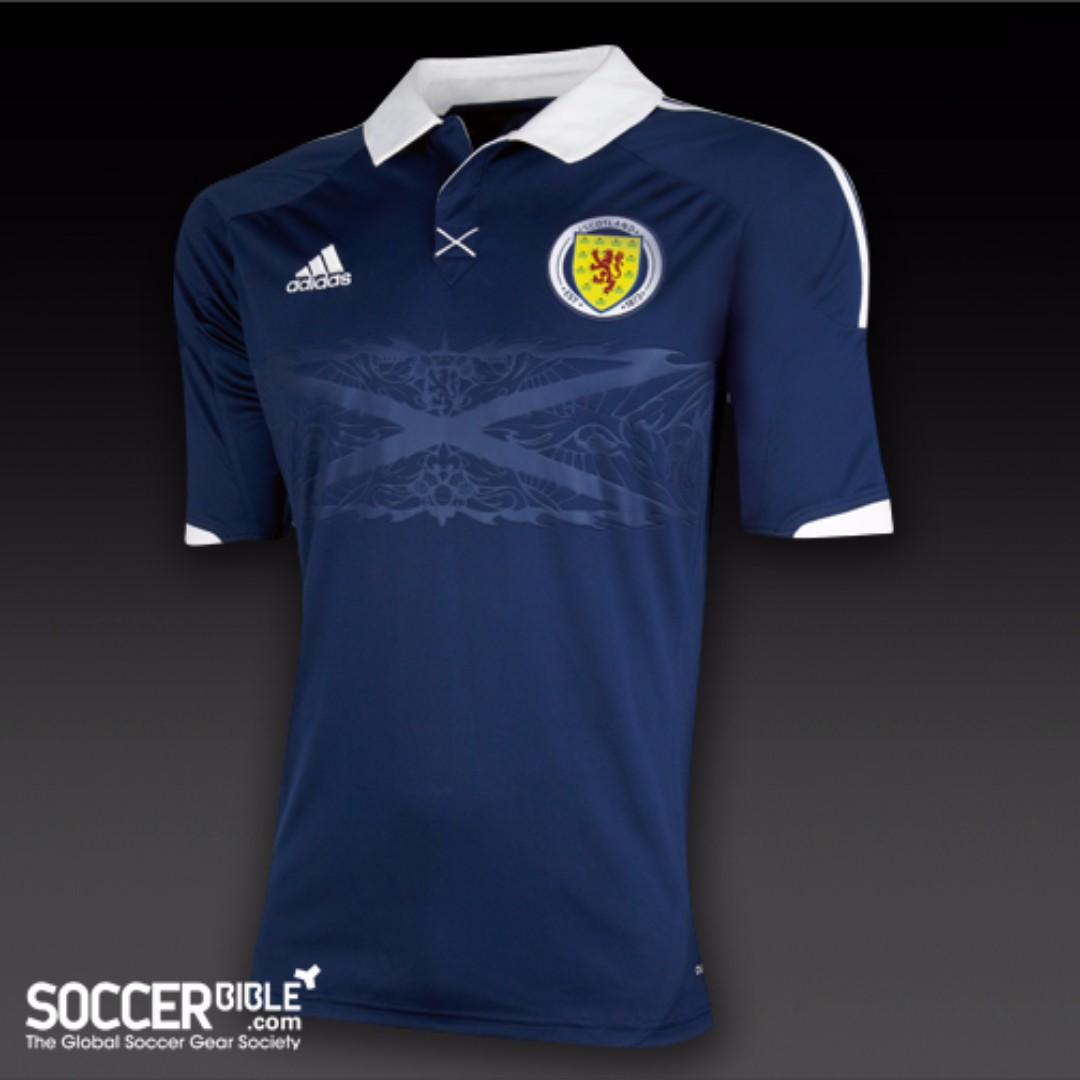 cc4519063 Scotland Football 2010 World Cup Kit