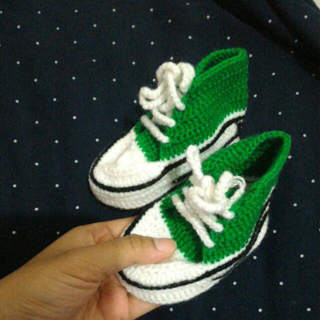 [New] Sepatu Bayi Rajut