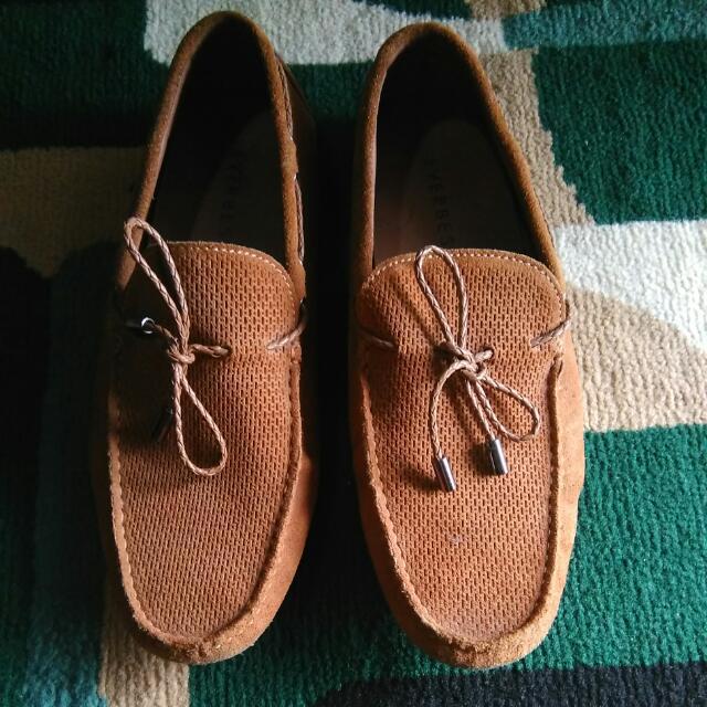 Sepatu Everbest Original Brown Suede Size 43