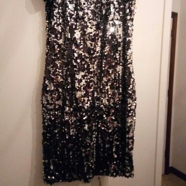 Sequined Pagani Short Dress