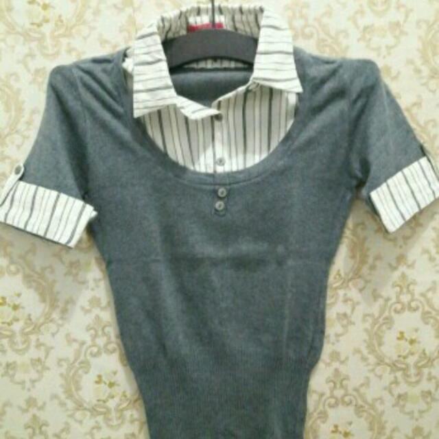 Shirt Abu-abu