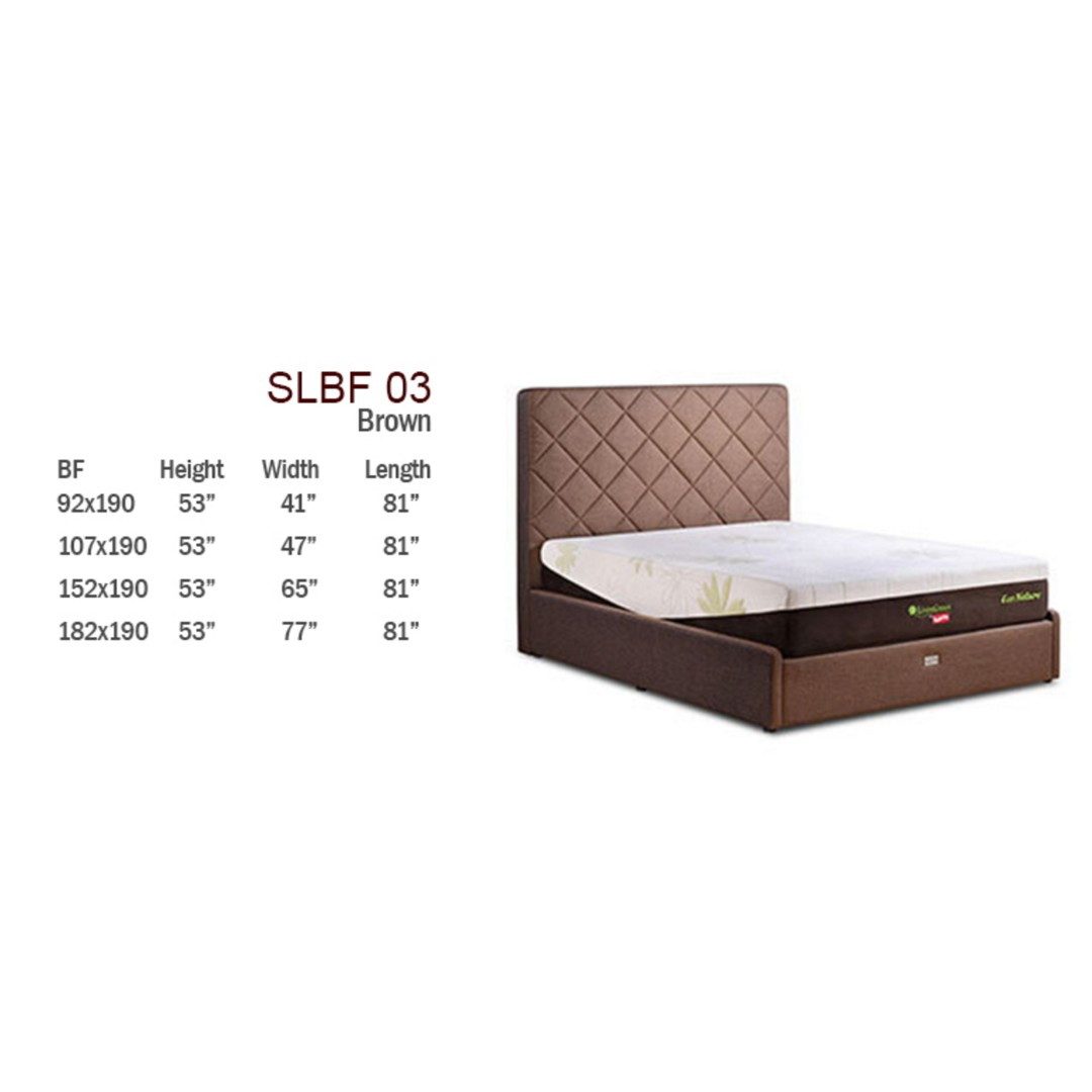 plush eco all mattress bed slumberland beds size king