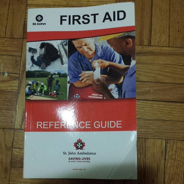 St John Ambulance First Aid Ref Guide