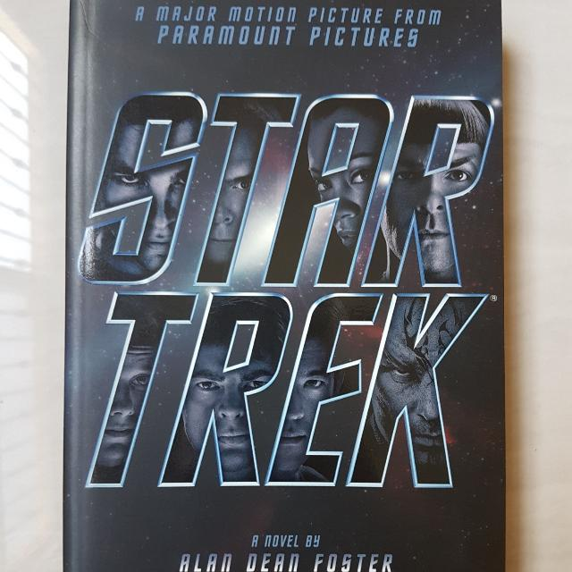 star treck novel book