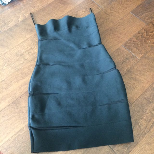 Strapless Bandage Dress Clubbing