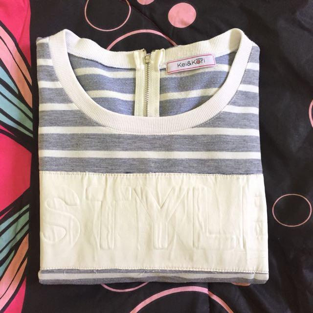 Sweater Stripes Grey