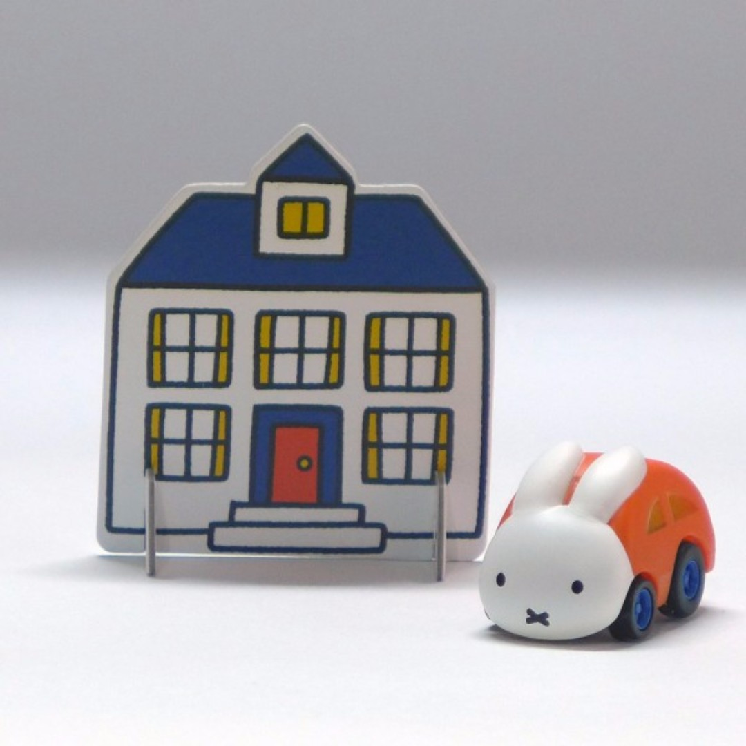 Takara Tomy Choro-Q Mix QM-15 Miffy Rabbit Toy Car, Babies & Kids, Toys on  Carousell