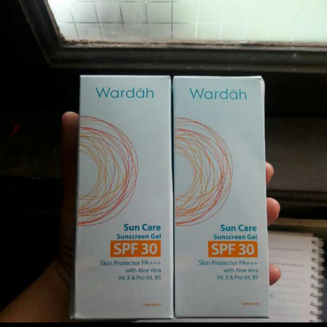 [TAKE BOTH 35K) Wardah Sunscreen Gel Spf30