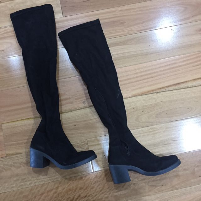 Thigh Over The Knee Boots Heeled