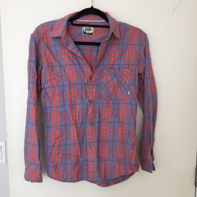 TNA Flannel Button up