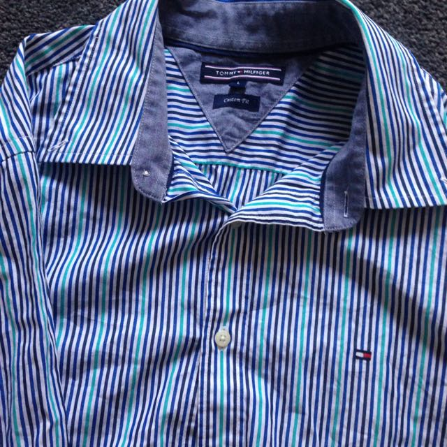Tommy Hilfiger Long Sleeved Button Up Shirt