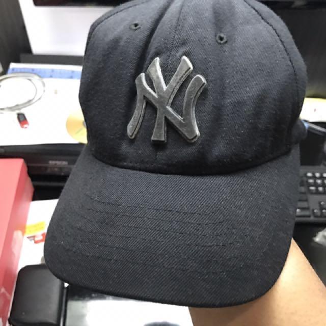 Topi MLB Yankees Metalic