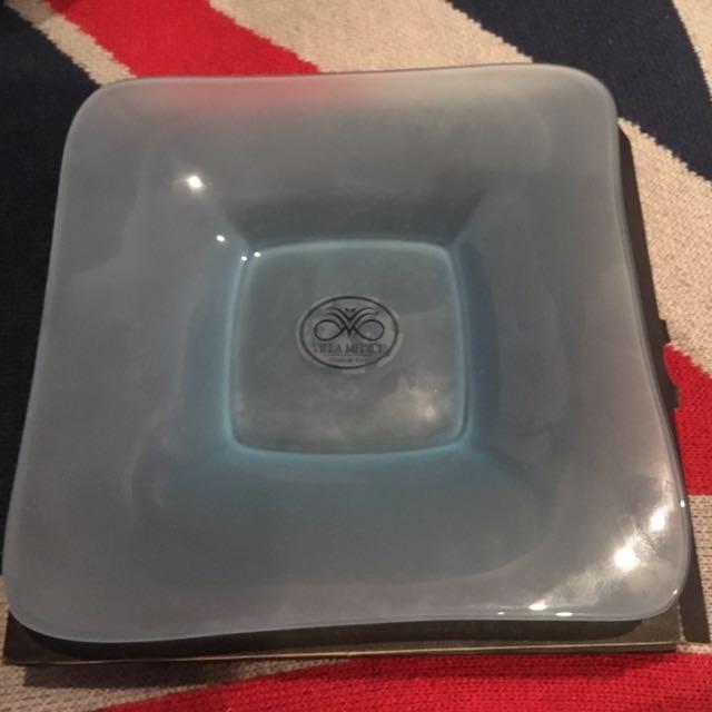 Villa Medici 'Aquamarine Frost' Plate