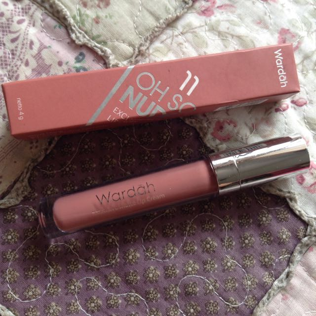 Wardah Exclusive Matte Lip Cream No 11 Oh So Nude