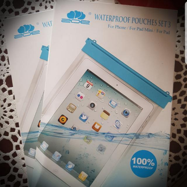 Waterproof Phone And Tablet Pouches
