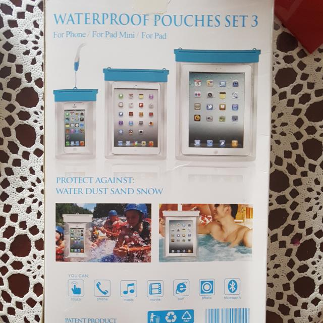 Waterproof Case Pouches For All Phones And Ipads