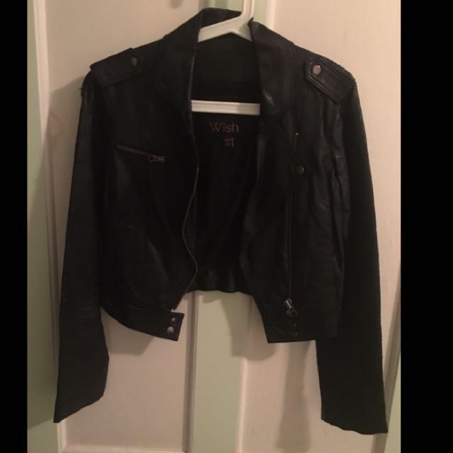 Wish Leather-like Jacket