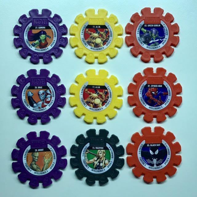 Woolworths Marvel Hero Discs