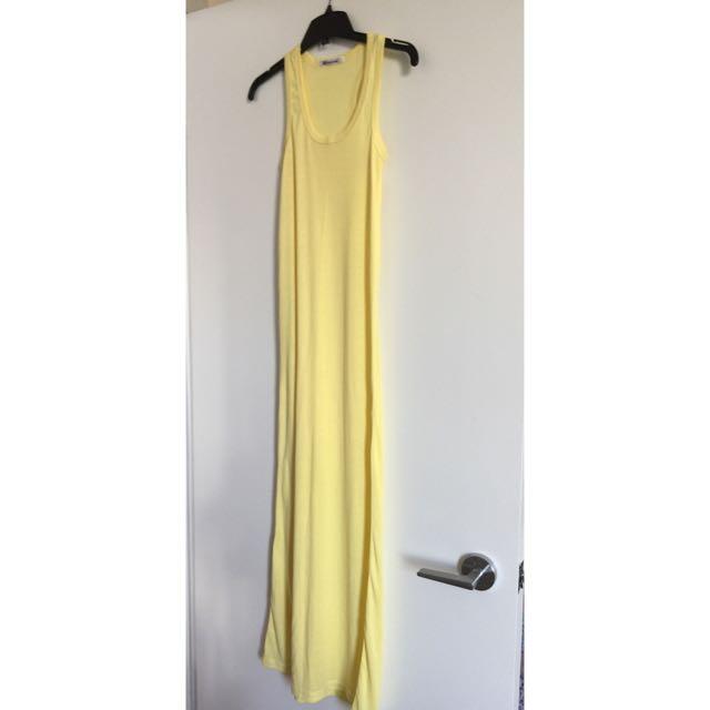 Yellow Maxi / Long Dress