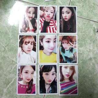 Twice Signal Preorder Card (SET)
