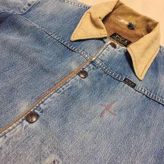 古著 Vintage 80's Blue Bell Maverick 鋪棉 刷毛外套 牛仔外套 美國製 Wrangler
