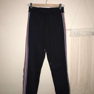 Forever 21 Stripe Sweatpants