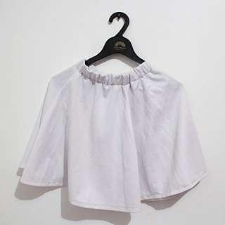White Flare Skirt