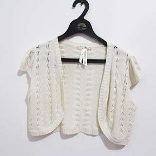 Crop Brokenwhite Outer