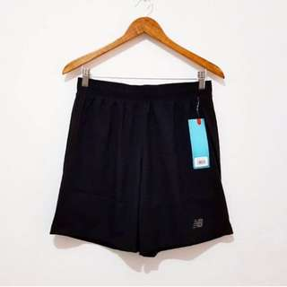 New Balance Dry Running Shorts BLACK - L