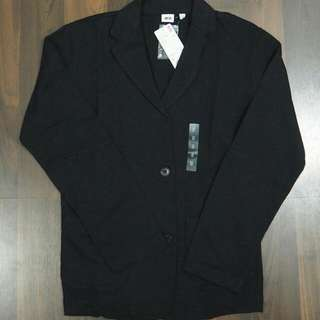 Casual Blazer Uniqlo Black