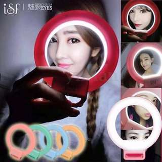 ISF CHARM EYES SELFIE RING LIGHT