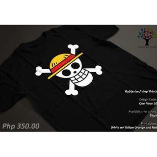 One Piece Luffy Pirate Anime Casual Shirt/Tshirt/Tee
