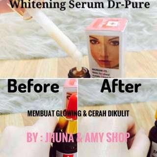 Cream Pemutih Wajah Paket Lengkap Dr-Pure Ekstrak Sakura Berijin Resmi Pemerintah BPOM