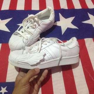 Adidas Jeremy Scott Js Superstar Wing Size 5/36
