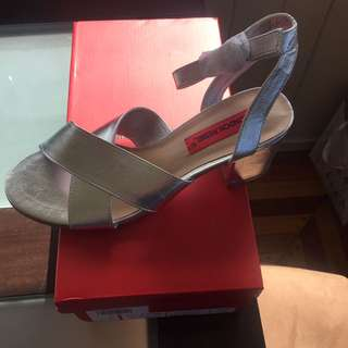 Brand NEW SILVER size 38
