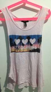 Forever 21 loose tank top