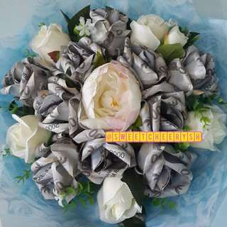 Money Roses Bouquet