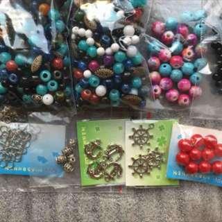 串珠 手工藝品DIY材料 手環手鍊項鍊 飾品