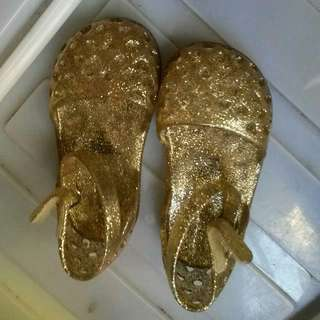 H&M Gold Jelly Shoes - Baby Girl