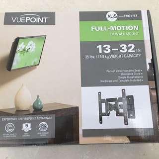 VUEPOINT Full Motion TV mount