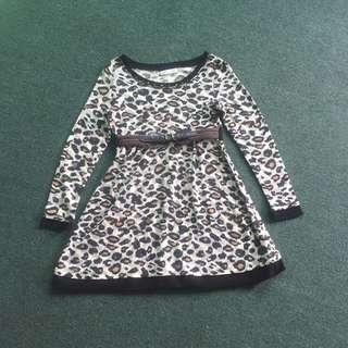 REPRICE!!!Leopard Dress