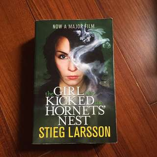 the girl who kicked the hornets nest - stieg larsson