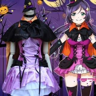 Love Live Nozomi Tojo Halloween Cosplay